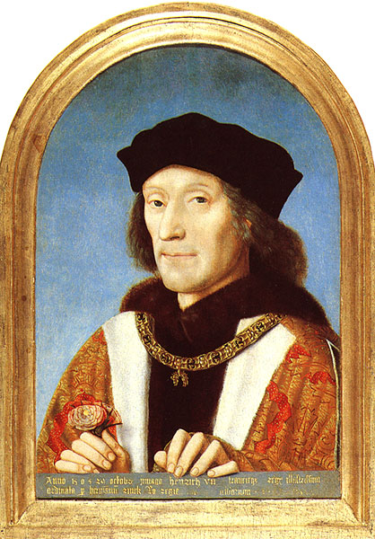 Henry VII by an unknown artist c. 1505