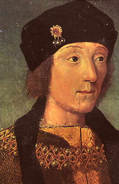 Young Henry Tudor by an artist of the French school