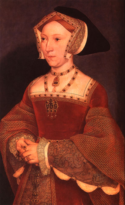 jane seymour queen. A painting of Queen Jane by